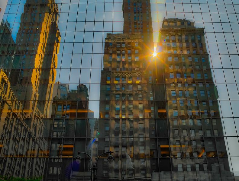 Manhattan Reflection