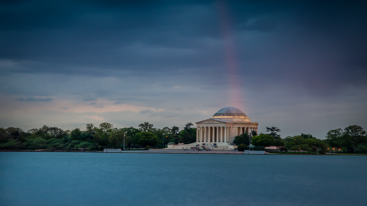 Rainbow in Washington