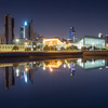 Kuwait - City reflection