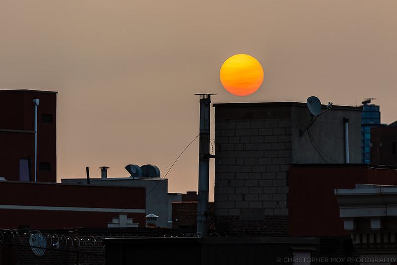 Hazy NYC Sunrise