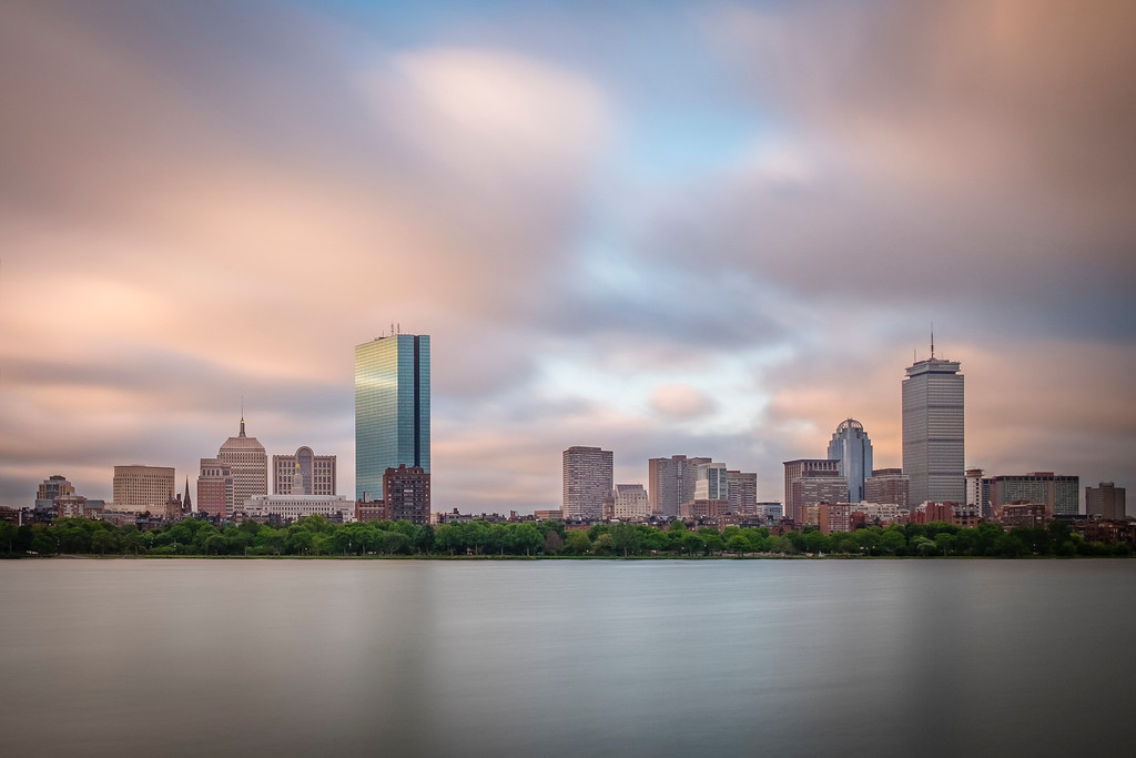 Back Bay and the Charles, Boston, MA
