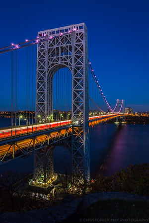 GWB from the Fort Lee Historic Park