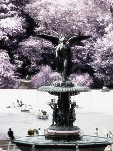 Infrared Bethesda Fountain