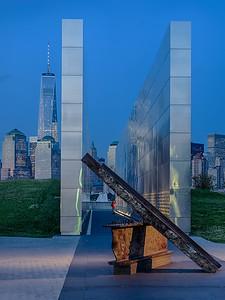 9/11 Memorial, Liberty State Park