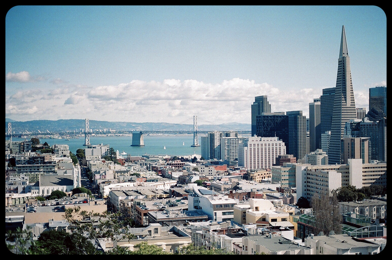 SF Skyline from Knob Hill