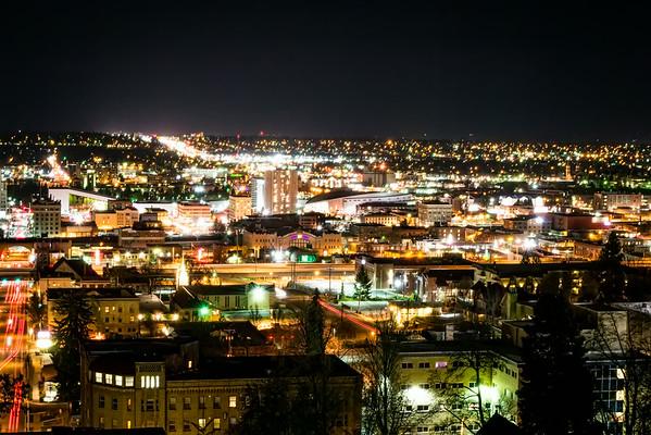 Spokane from Cliff Drive