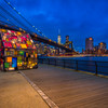 Tom Fruin's Stained Glass House DUMBO