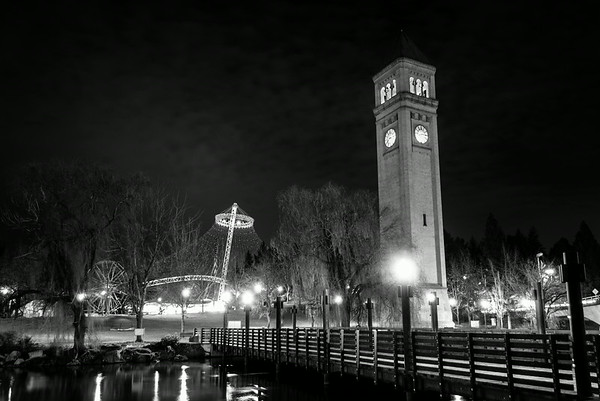 Pavillion and Clock Tower