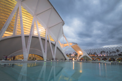 City of Arts & Science. Valencia, Spain
