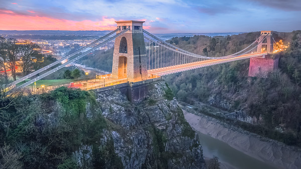 Clifton Suspension Bridge. Bristol, England.