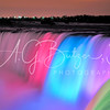 """Niagara Falls at Night"" ""rainbow colors"" ""Albert G. Butzer 3 Fine Art Photography"