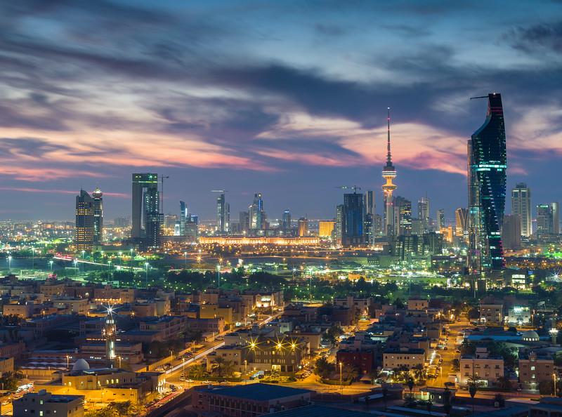 Kuwait cityscape