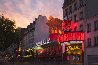 Moulin Rouge. Paris, France