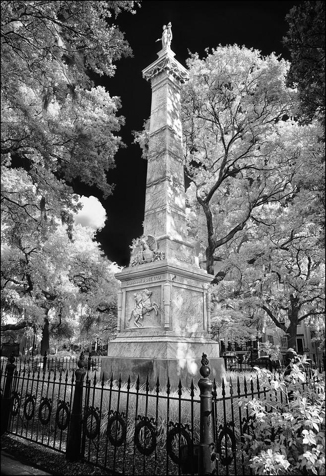 Savannah Pulaski  Monument
