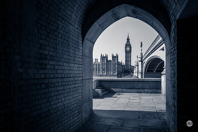 Westminster framed