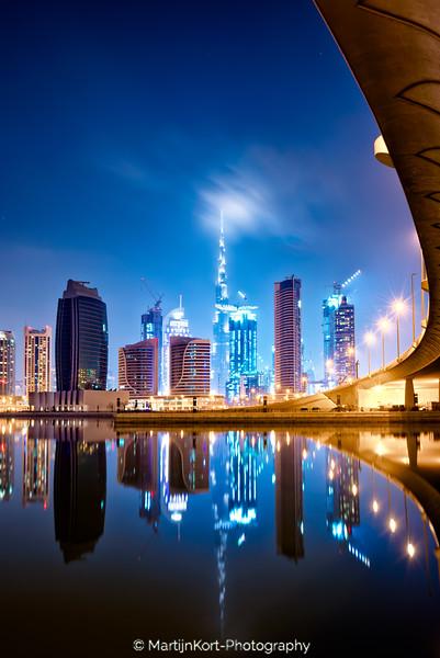 Perfect Burj Khalifa reflection