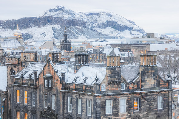 Winter in Edinburgh