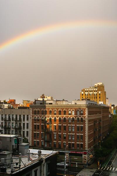 Rainbow over 12th Street
