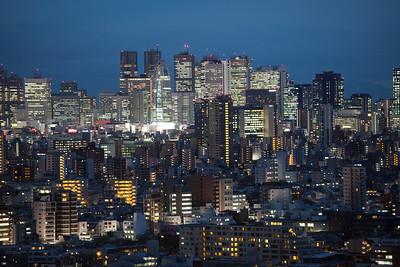 Shinjuku from Bunkyoku