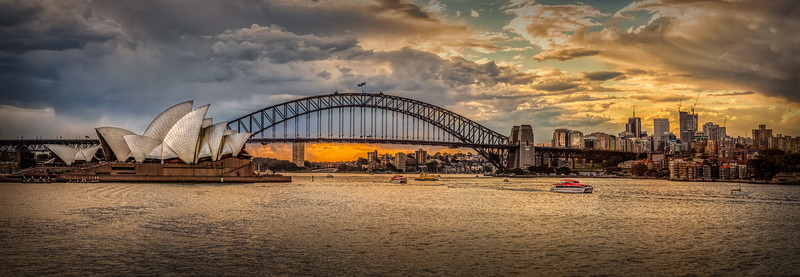 Stormy Sunset in Sydney