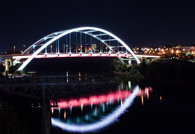 Korean War Veterans Bridge In Nashville