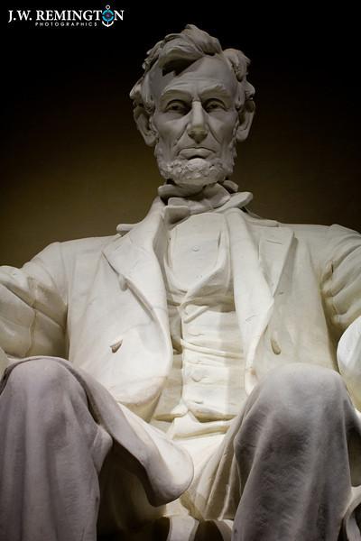 Abraham Lincoln, Head On, Medium-Low Angle