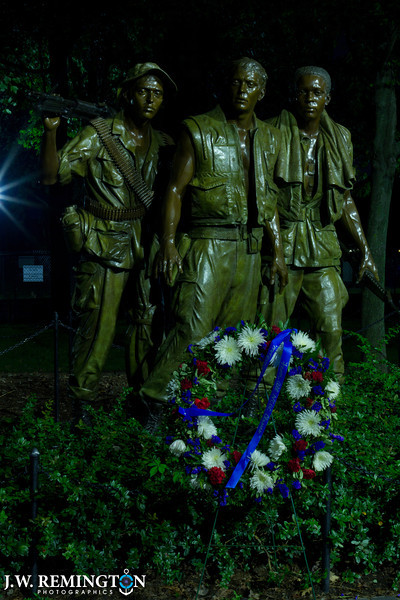 The Three Soldiers with Wreath