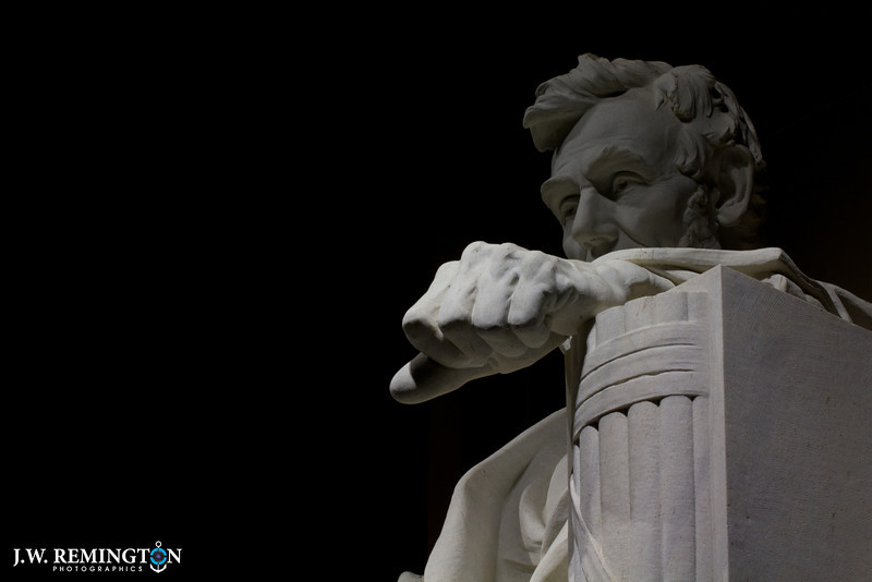 Lincoln's Clenched Fist of War