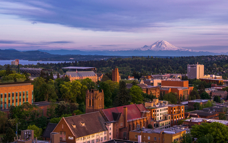 UW Campus Golden Hour