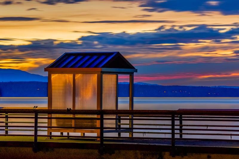 Spectacular Sunset Afterglow