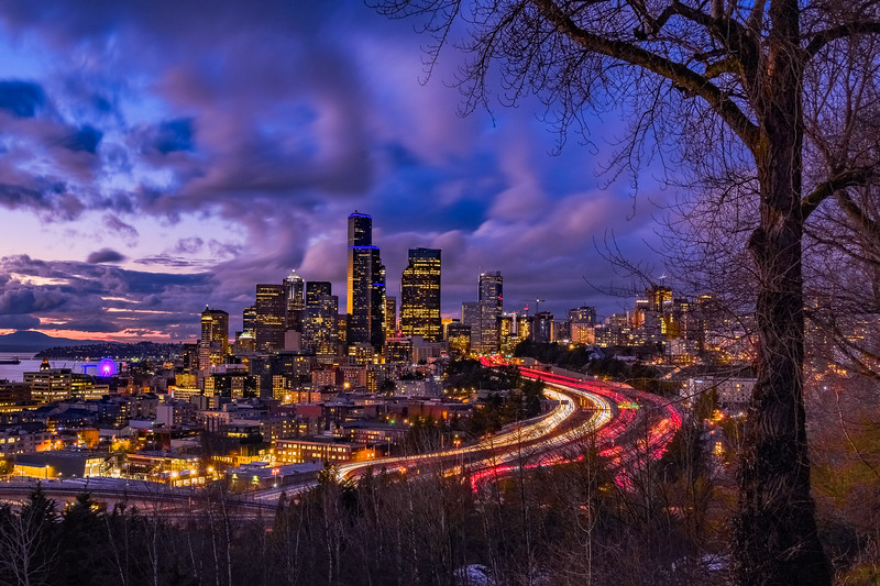 Cloud Drama Over The Emerald City