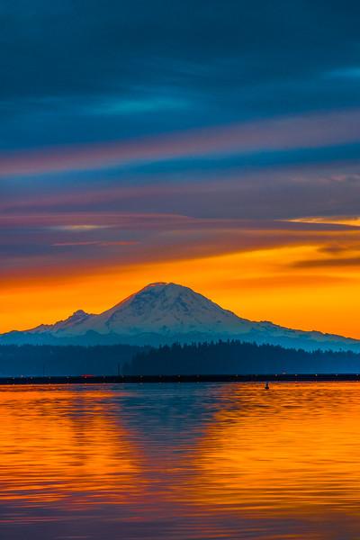 Golden Sunrise Glow