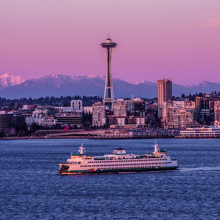 Quintessential Seattle at Sunset
