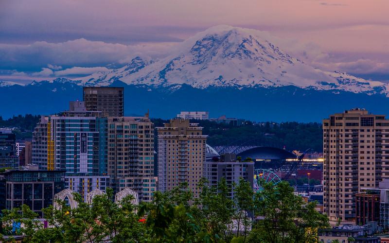 Majestic Mount Rainier