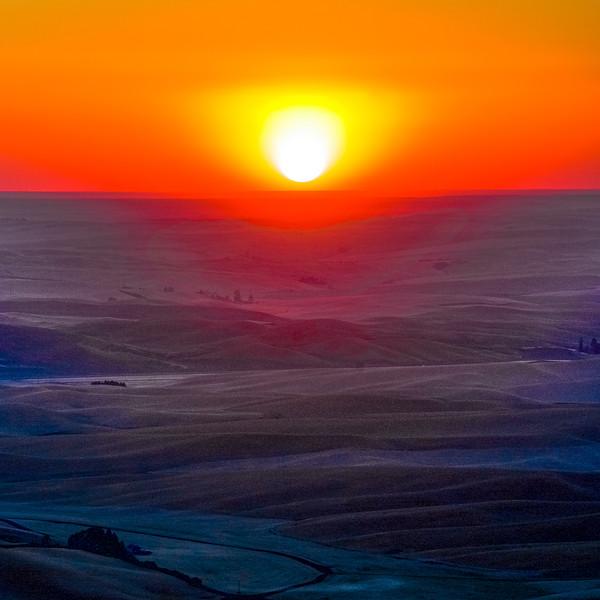 A Glorious Palouse Sunset