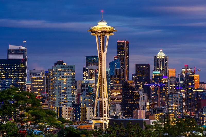 Seattle's Autumn Splendor