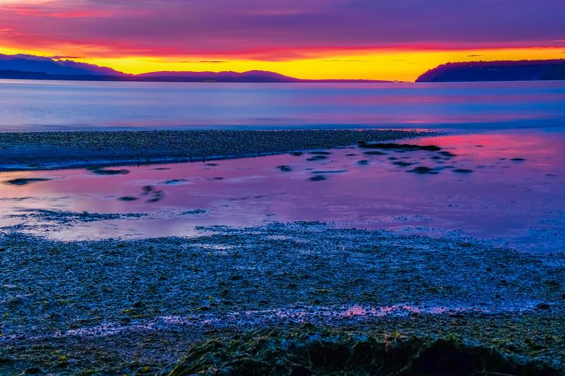 Brilliant Sunset Afterglow