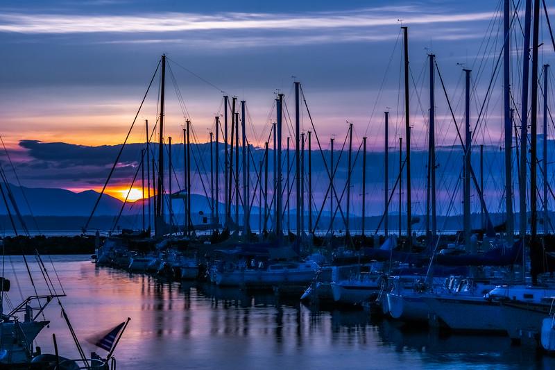 Divine Marina Sunset