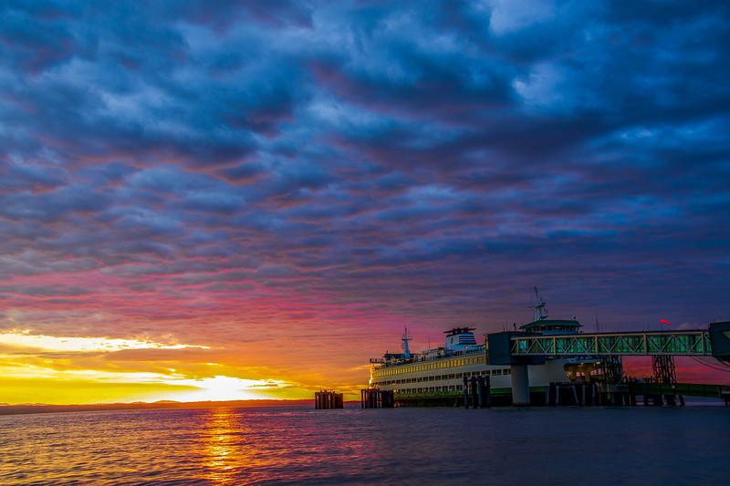 Cloud Drama at the Beach