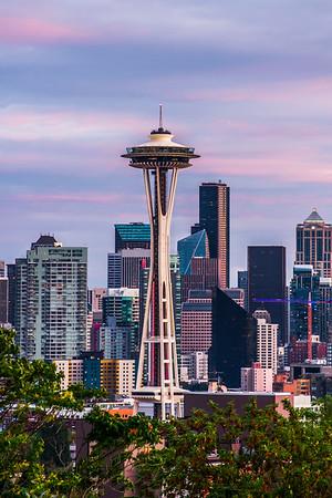 Pastel Skies in Seattle