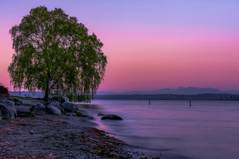 Pastel Sunset Afterglow