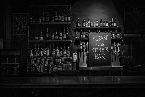please use other bar