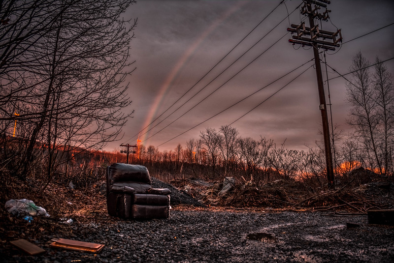 at the end of the rainbow