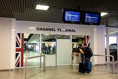 Eurostar terminal Brussels