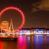 London Eye on Remembrance Day