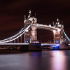 Tower Bridge with beautiful refections on the Thames
