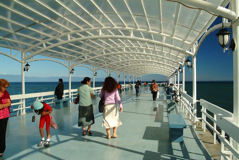 Muelle de paseo Puerto Montt
