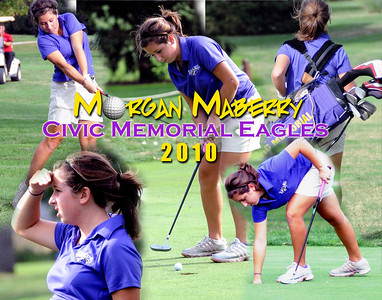 2010 Morgan Maberry Golf Collage