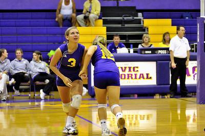 2010 Senior Night Volleyball