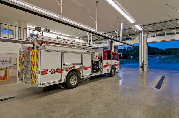 Cedar Hill Fire Station #24.  Client:  BRW Architects, Dallas.
